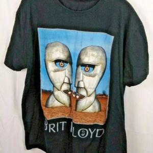 Men's Large/XLarge Brit Floyd Short Sleeve Shirt